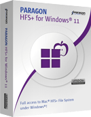 Paragon HFS+ for Windows Boxshot