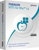 Paragon NTFS for Mac Boxshot